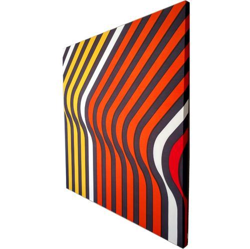 Ripples // Orange | MidcenturyArt