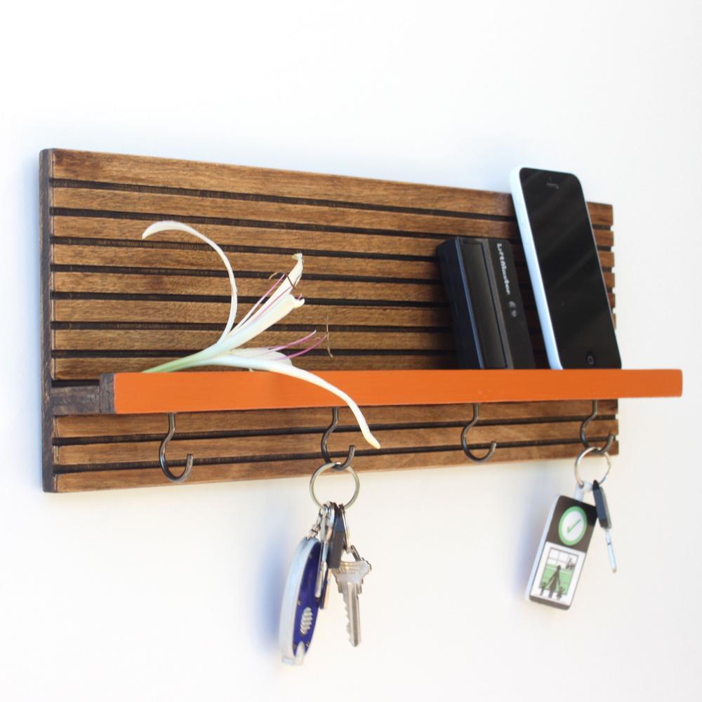 Key /Jewelry Organizer | Espresso | Wood Butcher Designs