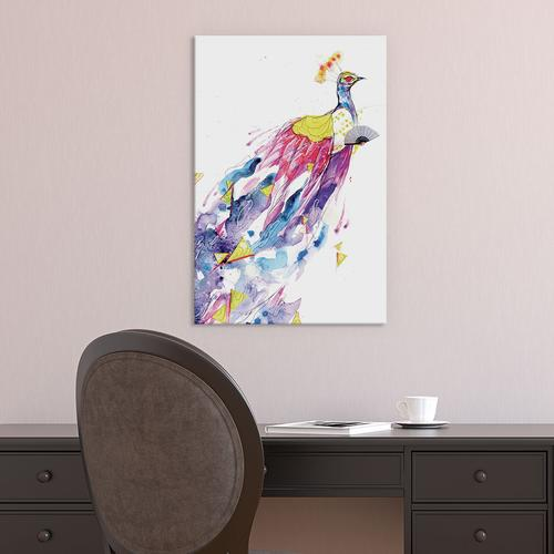 Loose Lucy by Black Ink Art Canvas Print