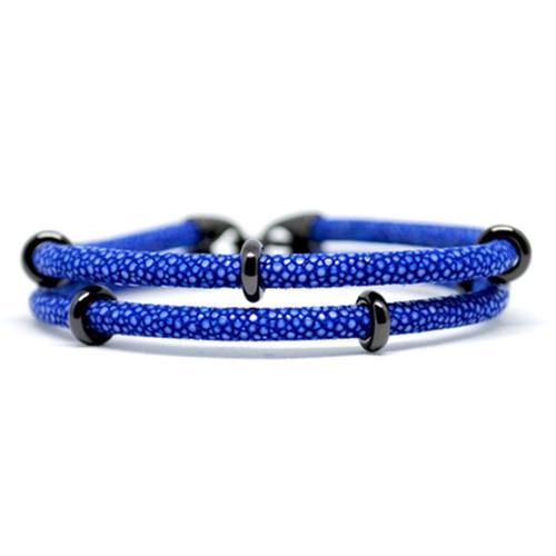 Bracelet | 2x Sting | Blue/Black