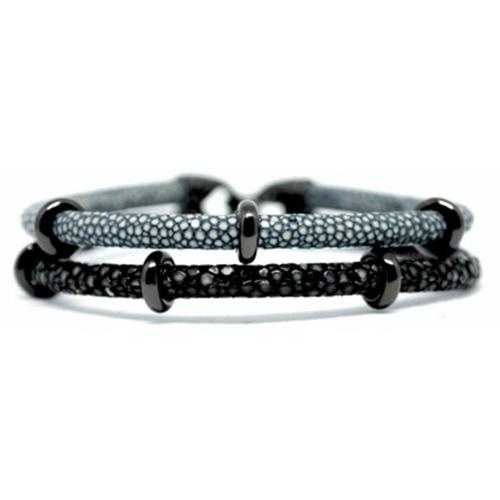 Bracelet | 2x Sting | Grey/Black/Black
