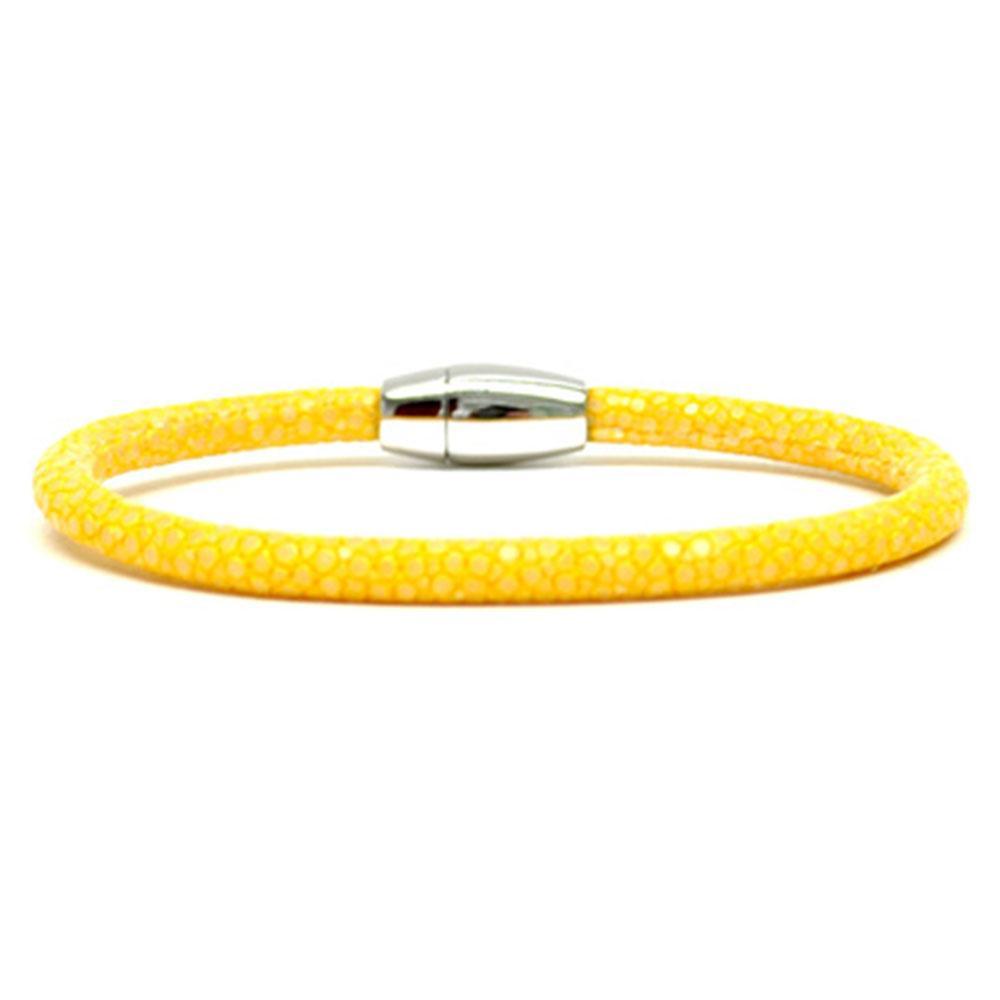 Single Stingray Bracelet | Yellow | Double Bone