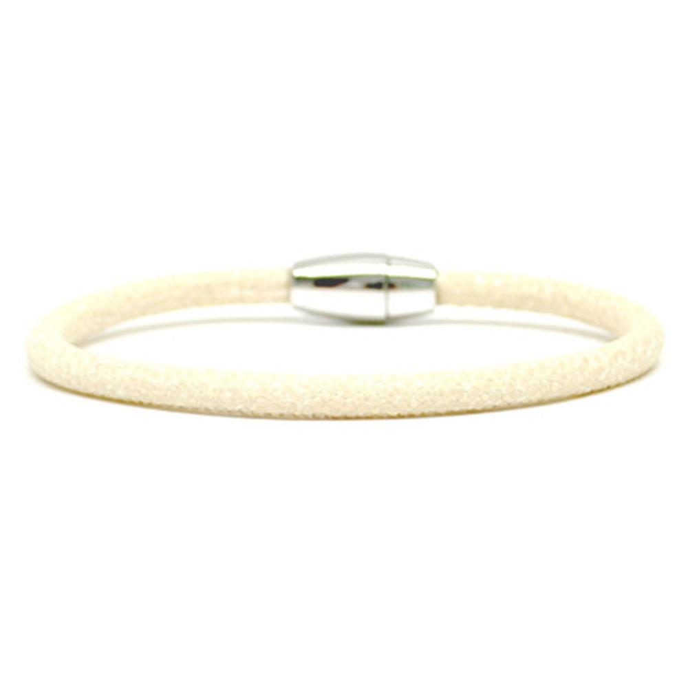 Single Stingray Bracelet | White | Double Bone
