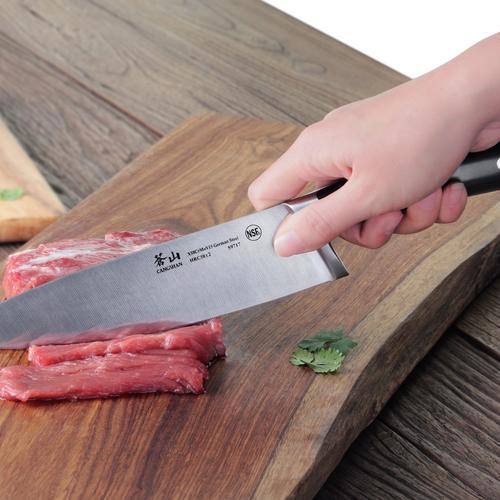 S Series | Set of 2 Knives | Steel | Black Handle | Cangshan