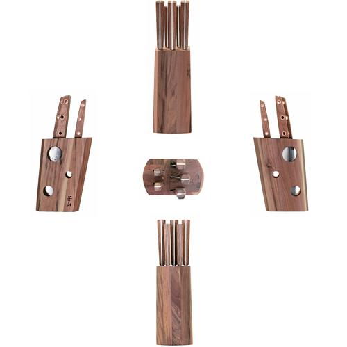 W Series | 6-Piece Knife Set | Teak / Walnut | Cangshan