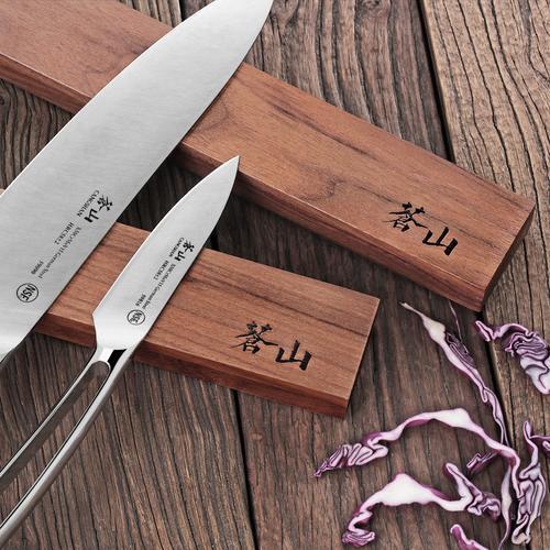12-Inch Walnut Wood Magnetic Knife Bar   Cangshan