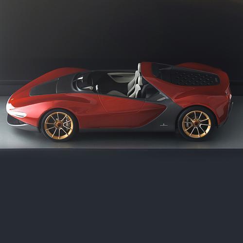 SERGIO - 2013 - 1: 18 MODEL | Pininfarina