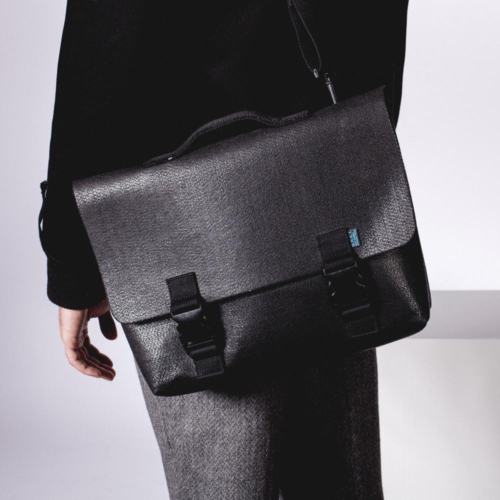 Kel Briefcase Bag | Converts to Messenger Bag | MRKT Bags