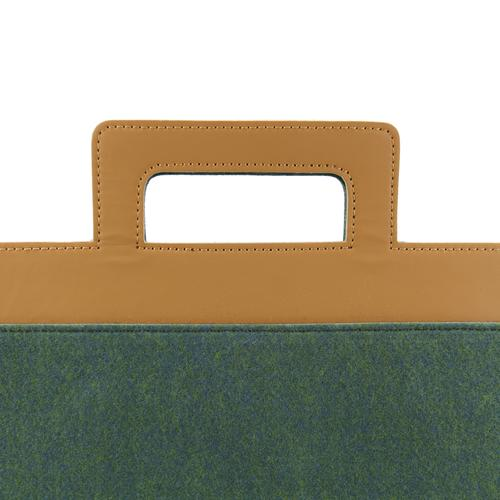 Henry Felt Briefcase | Simple, Minimal, Subtle | MRKT Bags