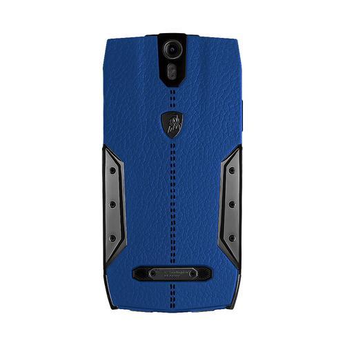 88 Tauri Smartphone   Blue Leather   Black