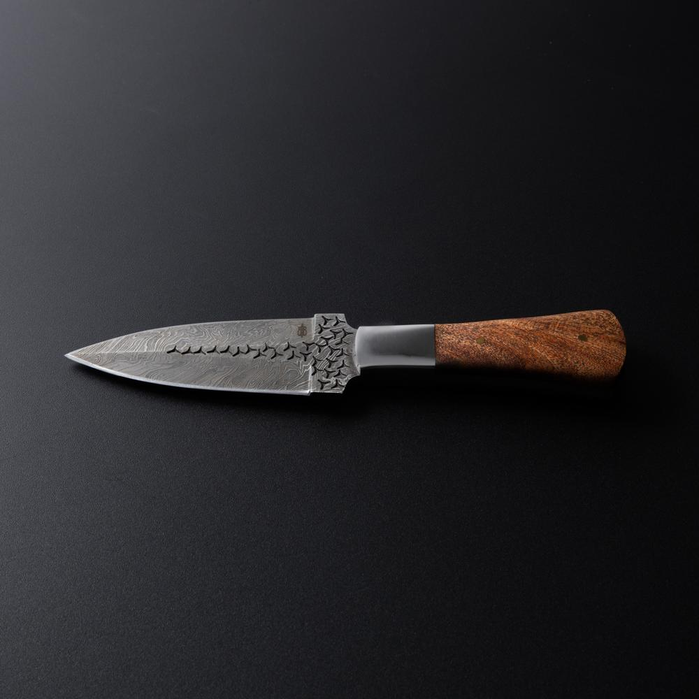 Handmade Damascus Boot Knife Buck Amp Bear Knives