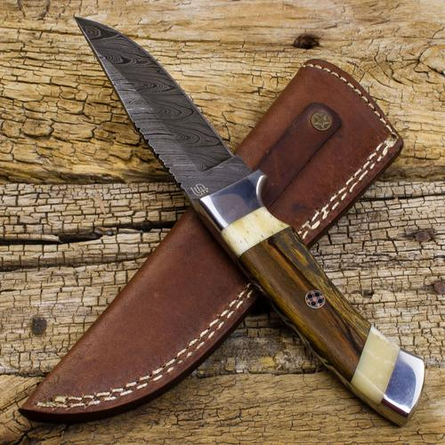 Victorio Apache Warrior Damascus Steel Dual | Forseti Knives