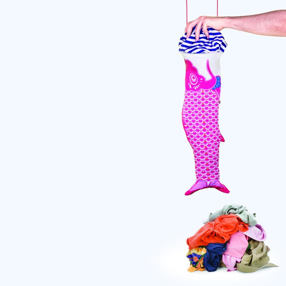 Koinobori Red   Koinobori Laundry Bag
