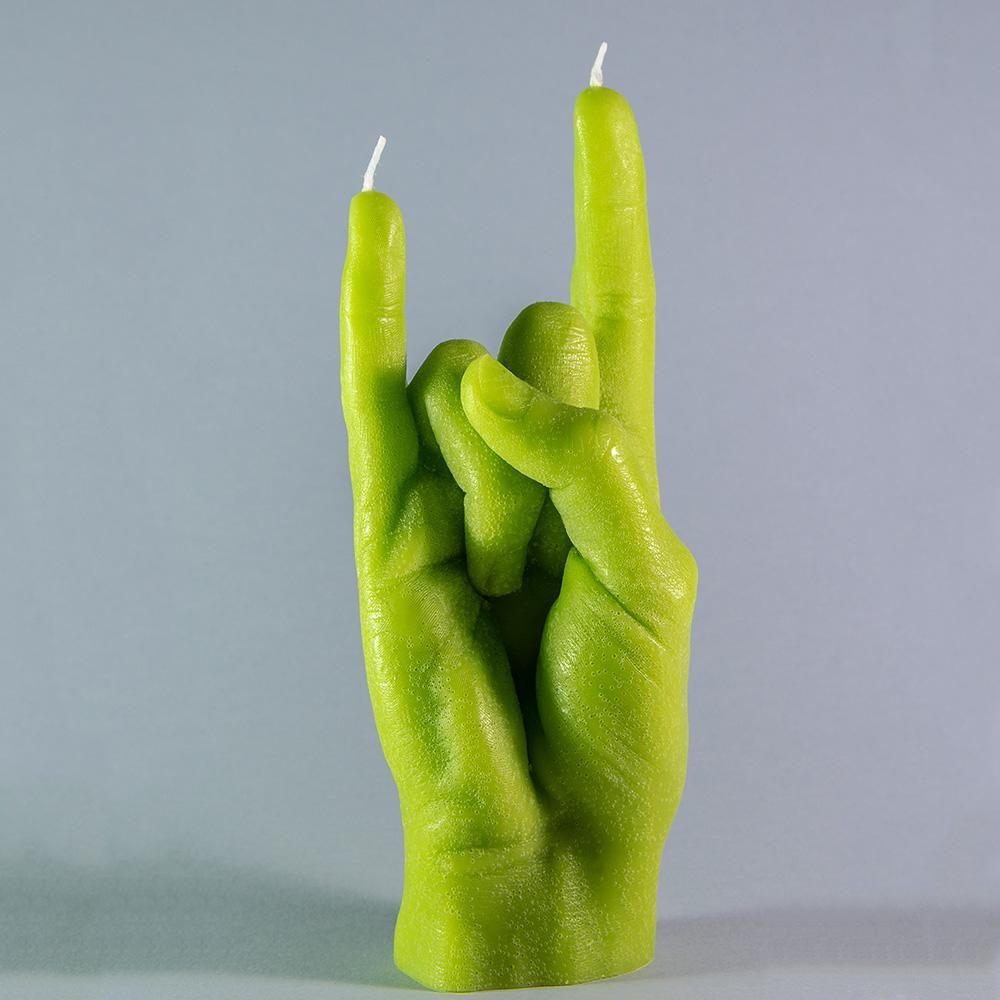 You Rock   Candle Hand