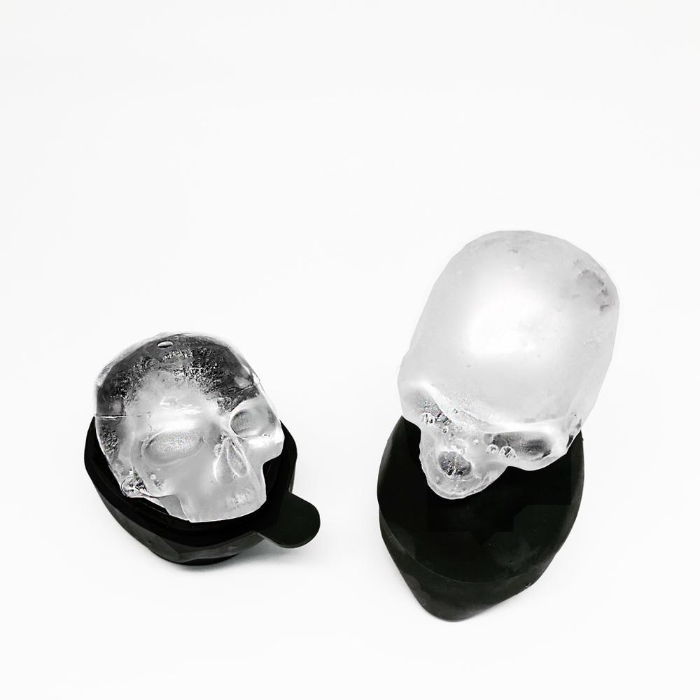 Skull Ice Mold   Set of 2   Skull Ice Molds