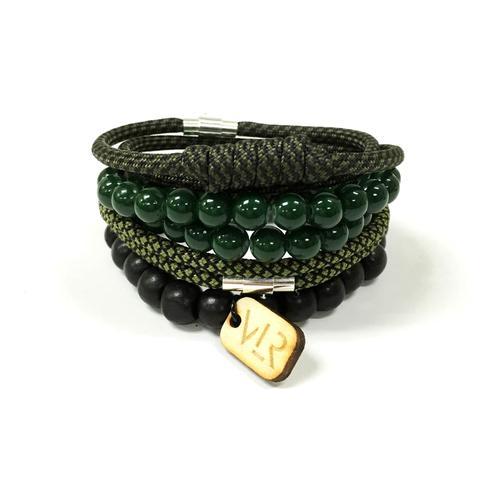 Variety Bracelet Set | Olive