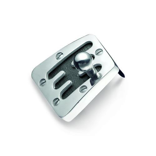 Silver Cambio 60's Pin