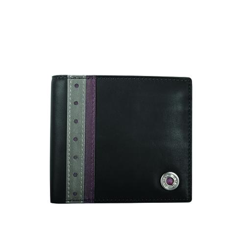 Leather Bearing Coin Pocket Wallet | Black