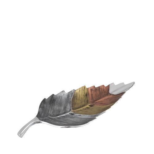 Tri- Tone Leaf Plate | Small