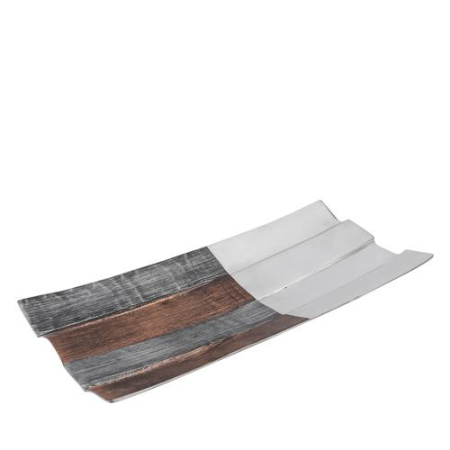 Tri-Tone Rectangular Plate