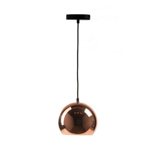 Copper Bowl Pendant Lamp
