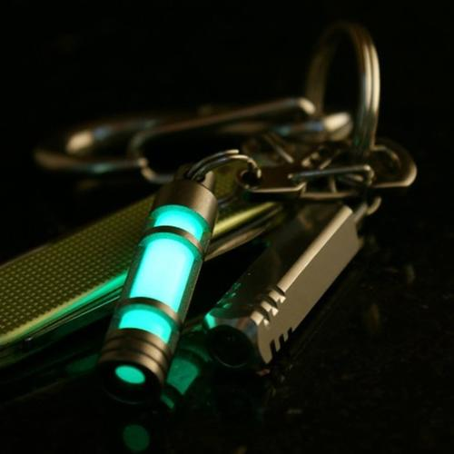 Embrite Glow Fob   Titanium [SET OF 2]