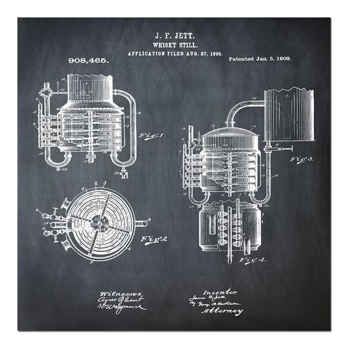 Whiskey Still - 1906 Chalk   Paper