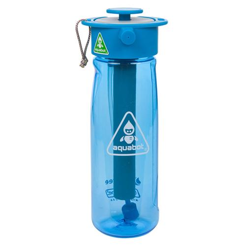 Aquabot Hydration Spray Water Bottle | Blue