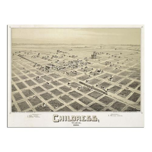 Childress, TX - 1890 | Paper