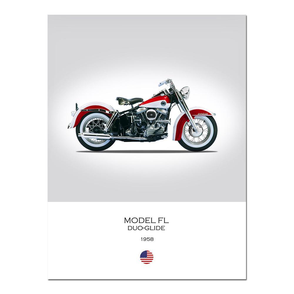 Harley Davidson Framed Pictures For Sale
