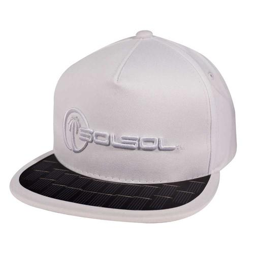 The Solar Charger Hat   White