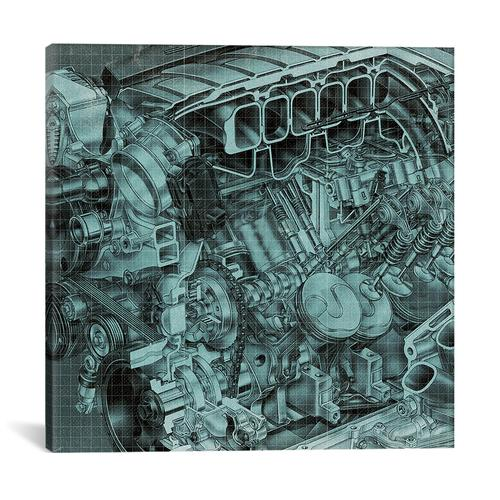Engine Block Blueprint