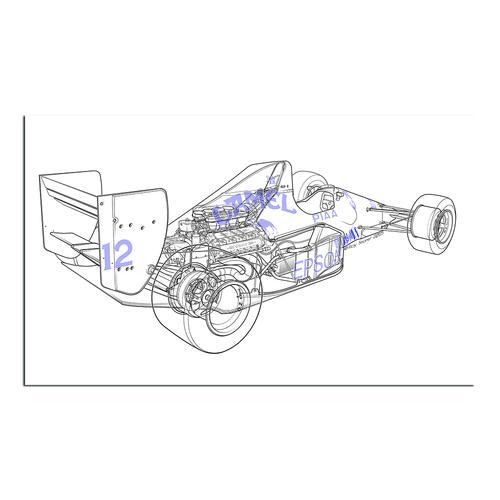 F1 Judd - Camel   Paper