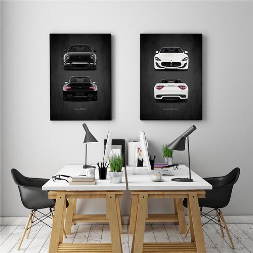 911 Carrera II | Canvas