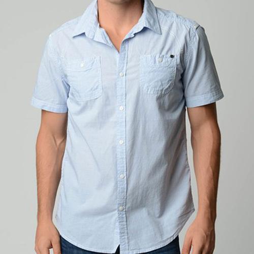 Drew Shirt   Light Blue