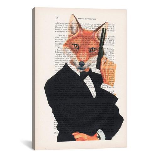 Vintage Paper Series: James Bond Fox