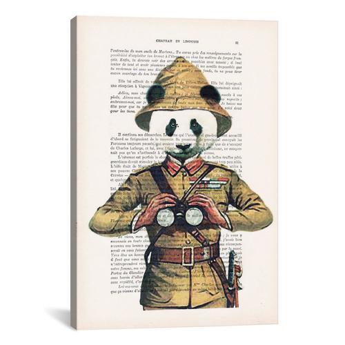 Vintage Paper Series: Panda Explorer