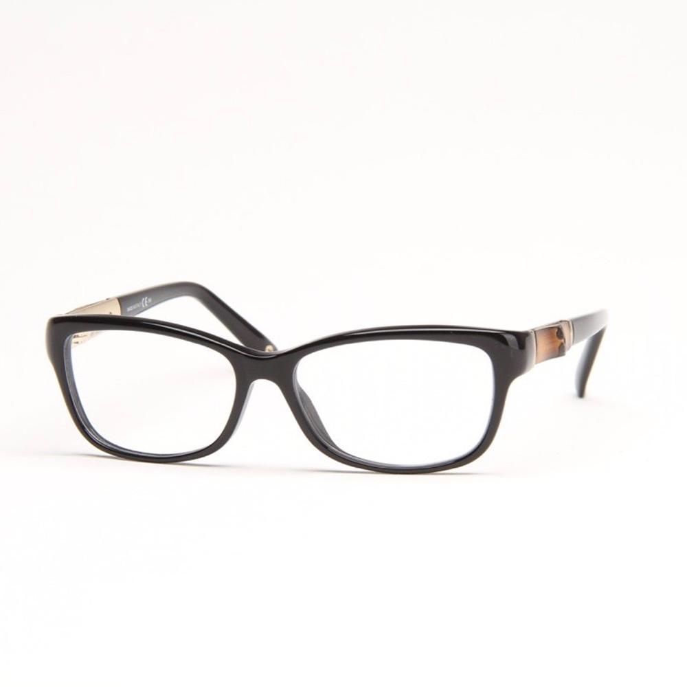black and bamboo eyeglasses