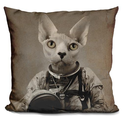 Durro Art 'Lost in space' Throw Pillow