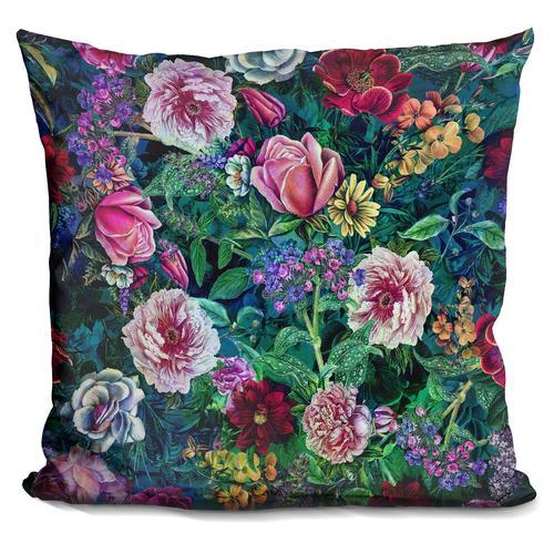 Riza Peker 'Botanical Flowers II' Throw Pillow