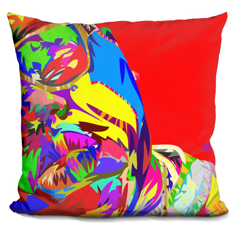 Big Soft Throw Pillows : BIG 2013 Technodrome Throw Pillows