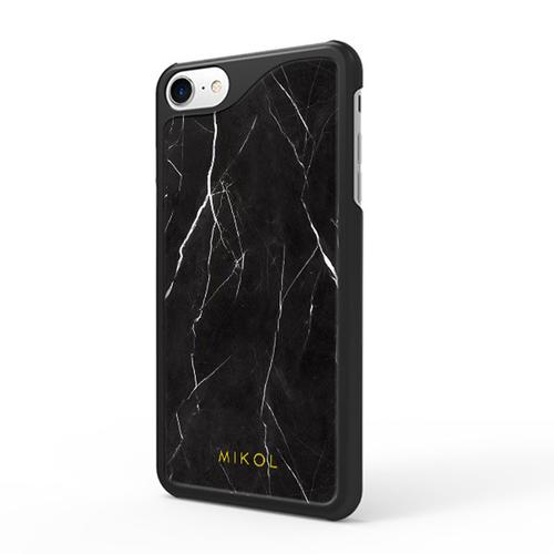 iPhone 7 case | Nero Marquina with Black Border