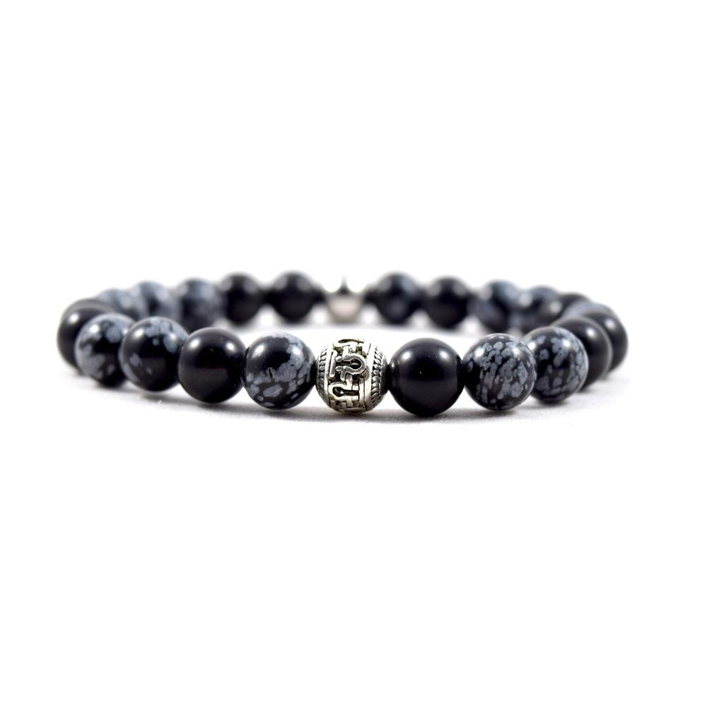 Omega Black Snow Bracelet | Executive Society