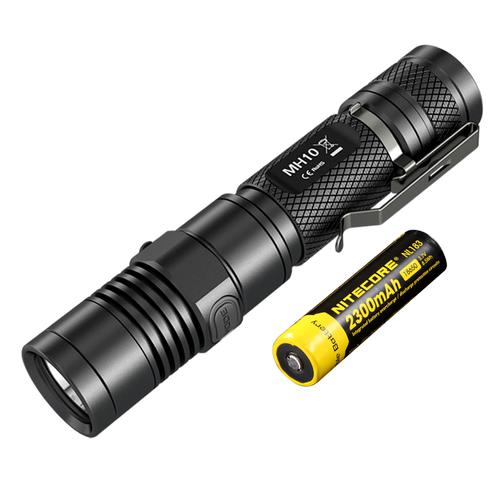 MH10, 1000 lumens, with battery | Nitecore