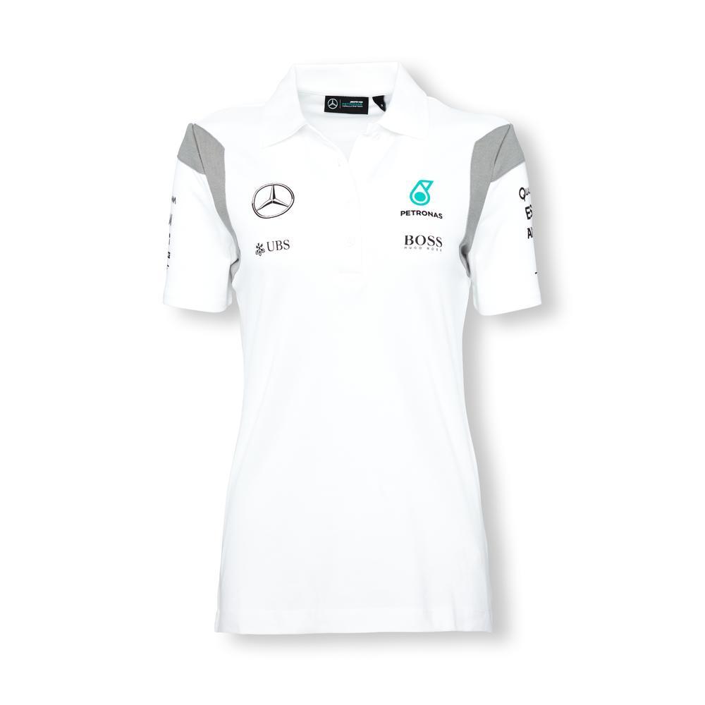 Mercedes Amg Petronas Polo Shirt Womens 2016 | Motorstore