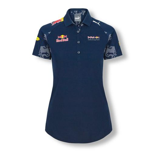 RED BULL RACING TEAM POLO SHIRT LADIES 2016 REPLICA