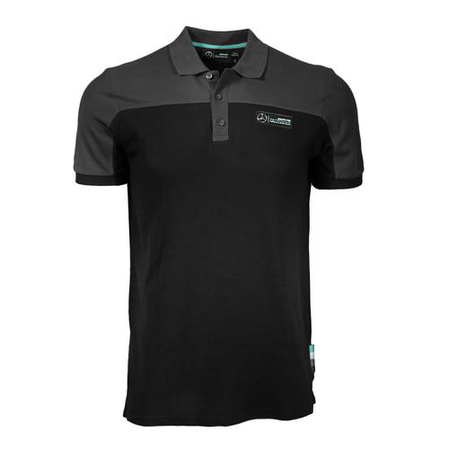 MERCEDES AMG PETRONAS CUT & SEW RACE POLO MENS