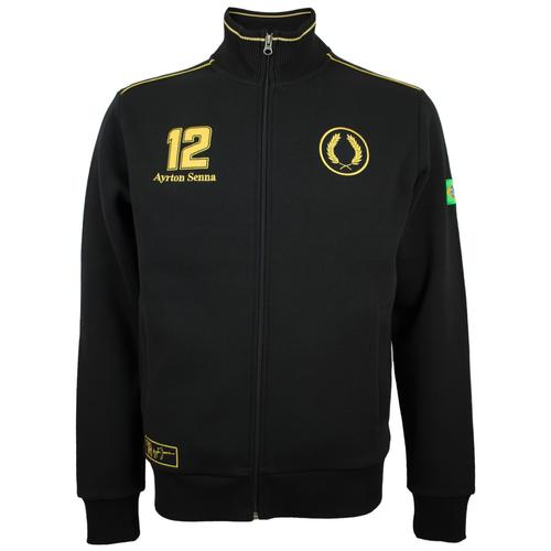 AYRTON SENNA CLASSIC TEAM LOTUS SWEATJACKET MENS