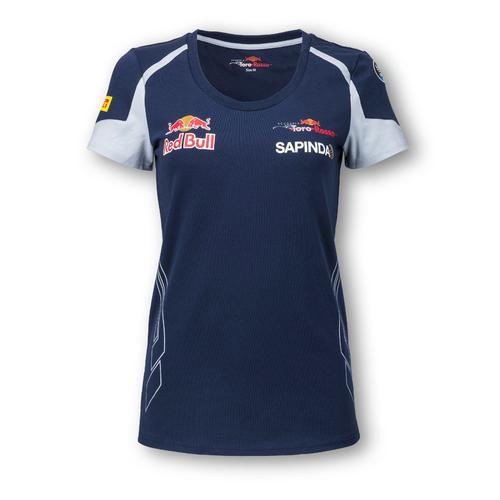 SCUDERIA TORO ROSSO T-SHIRT LADIES 2016 REPLICA