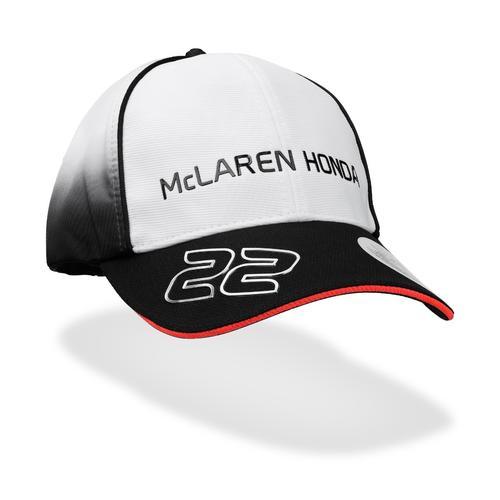 MCLAREN HONDA JENSON BUTTON CAP KIDS   Motorstore